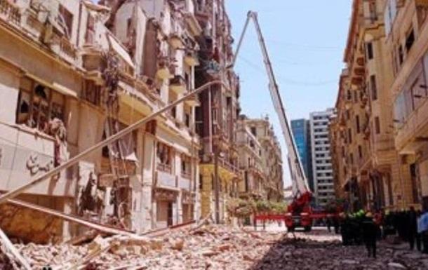 У столиці Єгипту обвалився будинок: врятували 18 осіб