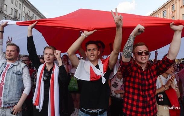 У Мінську затримали кількох учасників протесту