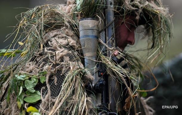 Снайпер  ЛНР  добровольно сдался украинским бойцам