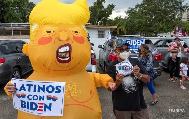Трамп  догоняет  Байдена по популярности - опрос