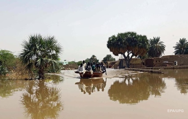 У Судані через сильні дощі загинули 63 людини