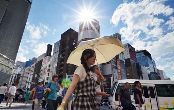 В Японии зафиксирована рекордная температура