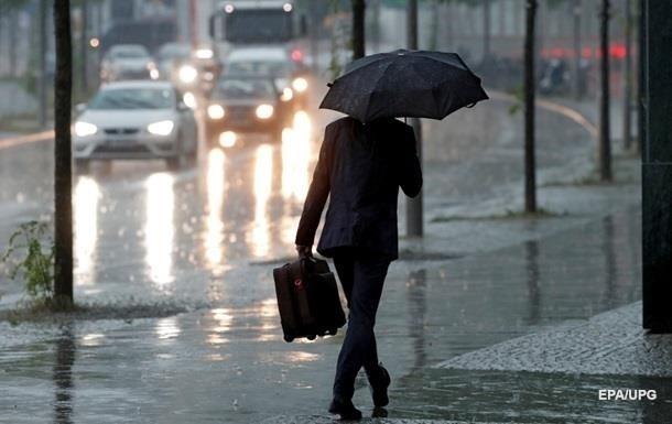 Погода на неделю: западные регионы накроют дожди