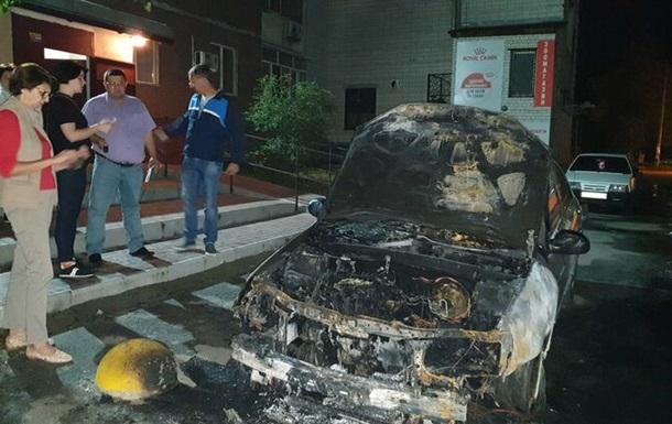 Поджог автомобиля Схем: раскрыты детали инцидента