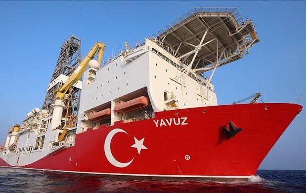 Туреччина відправила ще один корабель на бурові роботи в Середземному морі