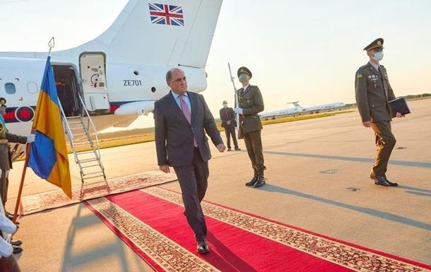 В Украину прибыл министр обороны Великобритании