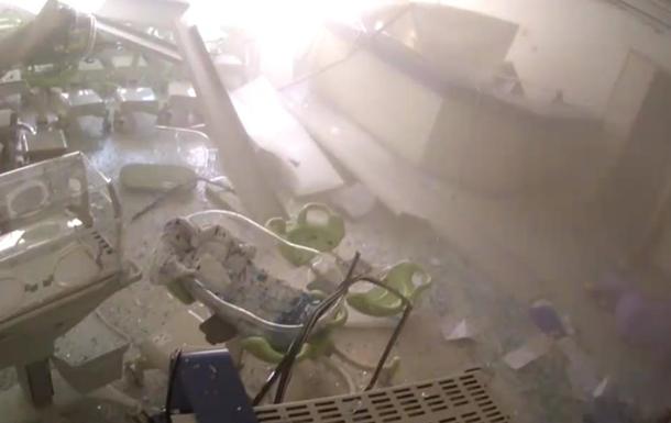 Опубликовано видео разрушения госпиталя во время взрыва в Бейруте