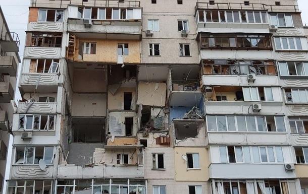 КМДА: Зруйнований будинок в Києві демонтують за 16 млн грн