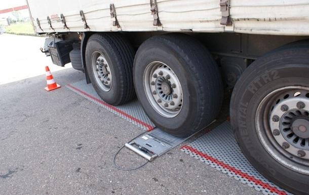 В Украине упростили габаритные проверки на дорогах