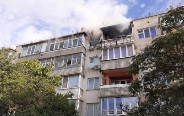 У Севастополі сталася пожежа з вибухом
