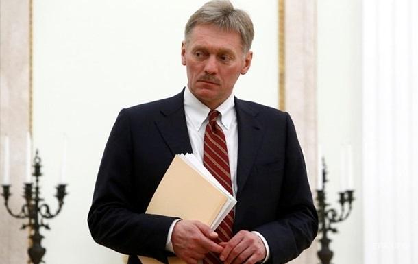 Кремль прокоментував  отруєння  Навального