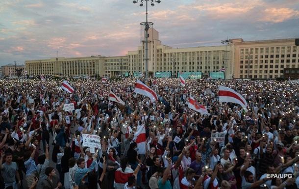 Переход в политическое русло. Протесты в Беларуси