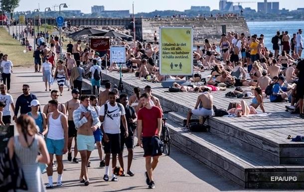 Смертность в Швеции побила рекорд за 150 лет