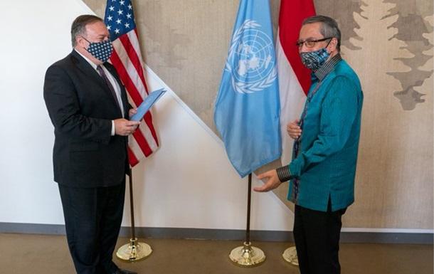 Помпео обратился в ООН из-за санкций против Ирана
