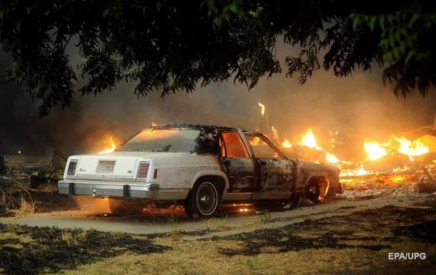 В Калифорнии при пожарах погибли пять человек