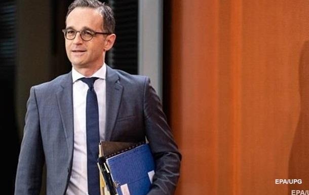 Глава МИД Германии прибудет в Украину на День независимости