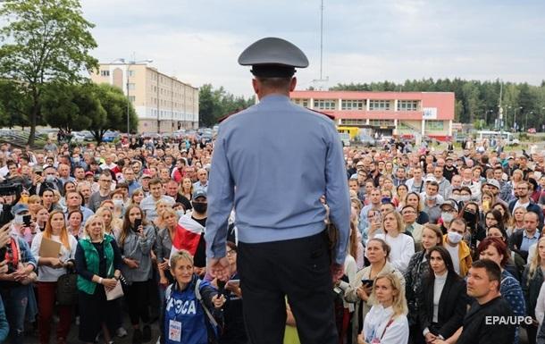 МВС Білорусі звинувачує 46 громадян країни в насильстві щодо  силовиків