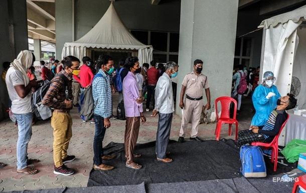В Индии более трех миллионов человек инфицированы COVID-19