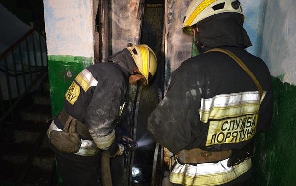 У Дніпрі сталася пожежа в багатоповерхівці