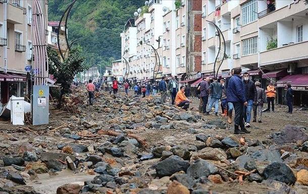 У Туреччині чотири людини загинули через сходження селевих потоків