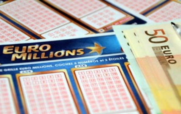 Джекпот EuroMillions досяг € 122 мільйонів,  білети доступні жителям України