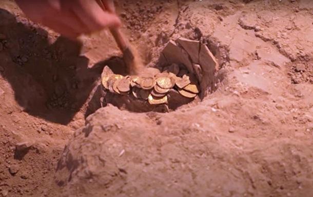 Тисячолітні золоті монети знайшли під час розкопок в Ізраїлі