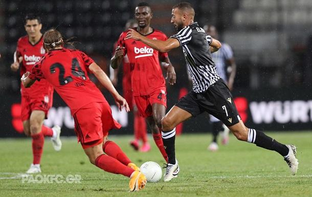 Лига чемпионов: ПАОК выбил Бешикташ, Црвена Звезда обыграла Тирану