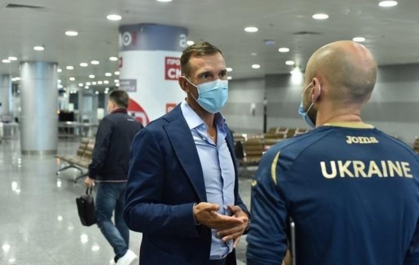 Шевченко с 19 игроками сборной отправился на сбор в Харьков