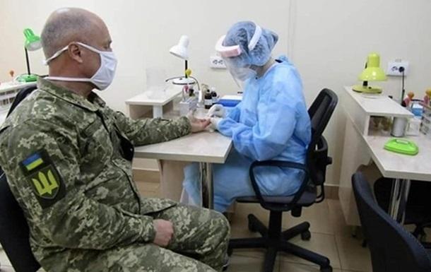 В ВСУ коронавирусом болеют почти 600 человек
