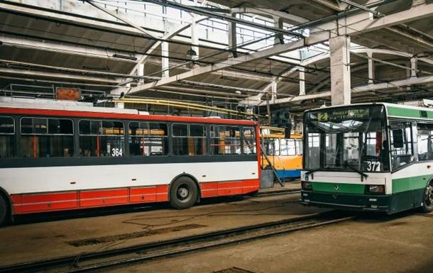 В Черновцах все троллейбусы остановили перевозки