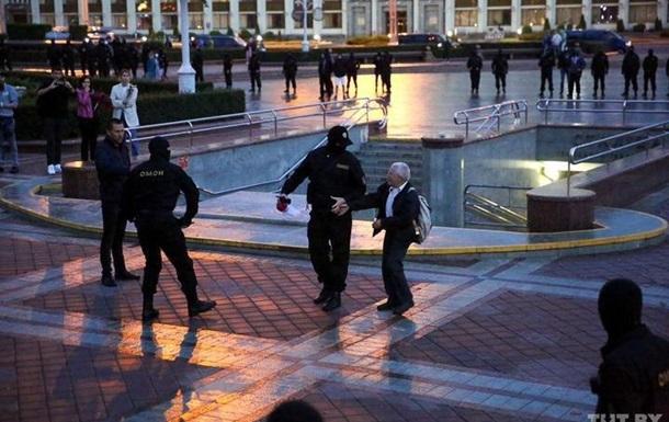ОМОН разогнал протестующих в Минске