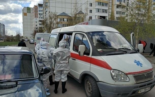 В Киеве рекорд госпитализированных с коронавирусом