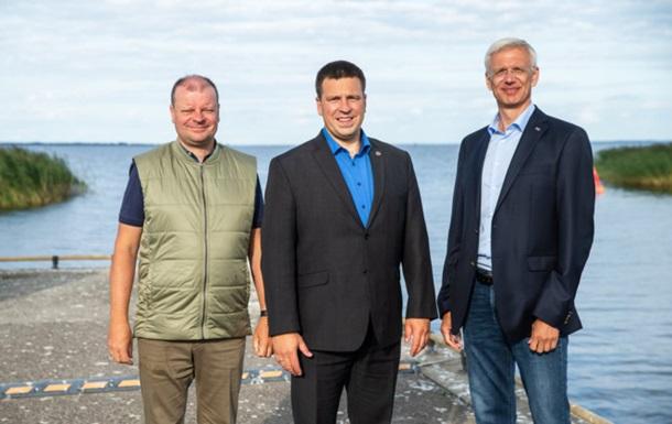 Премьеров стран Балтии не пустили в Минск