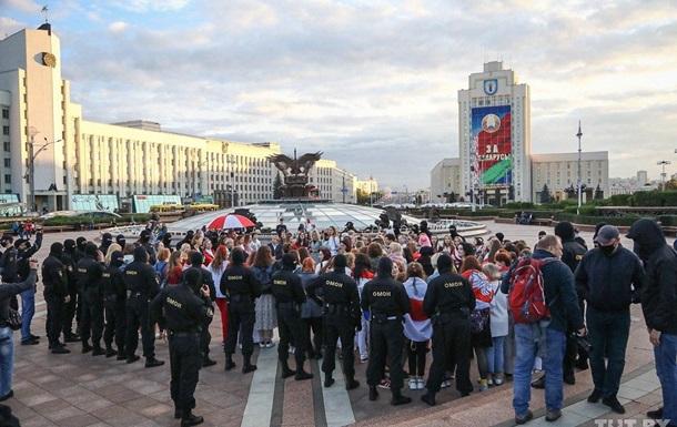 В Минске продолжились протесты активистов