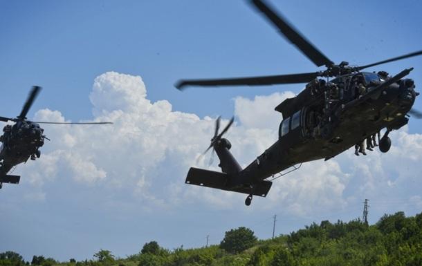 В США упал военный вертолет, двое погибших - СМИ