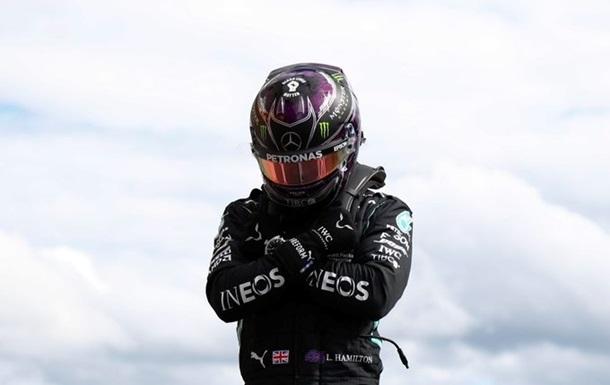 Хемілтон без шансів для суперників виграв кваліфікацію Гран-прі Бельгії