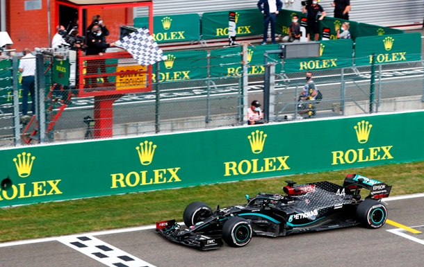 Хемілтон без складнощів виграв Гран-прі Бельгії