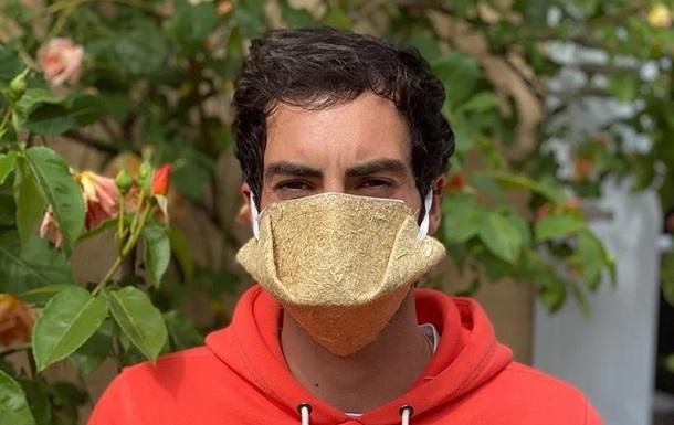 Во Франции начали выпускать маски из конопли: фото