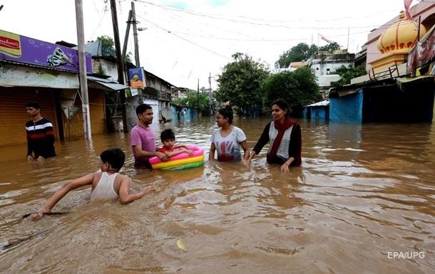 В Индии масштабное наводнение. Фоторепортаж