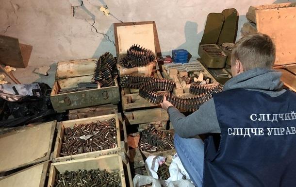 На Харківщині знайшли велику схованку боєприпасів