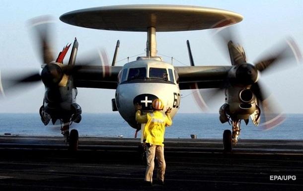 В США разбился разведывательный самолет ВМС
