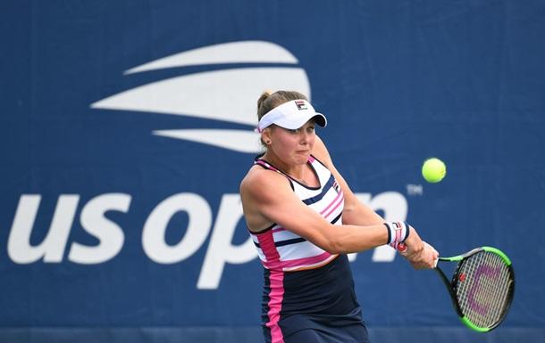 Козлова в двох сетах виграла матч першого кола US Open