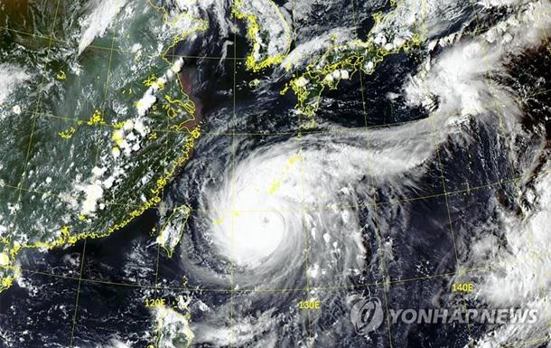 На Южную Корею обрушится первый в этом году супертайфун