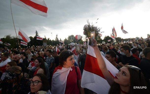 В Минске силовики разогнали митинг студентов
