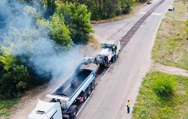 На Луганщине начали ремонтировать трассу Старобельск-Новоайдар