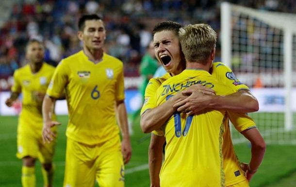 Україна - Швейцарія онлайн 3 вересня о 21:45