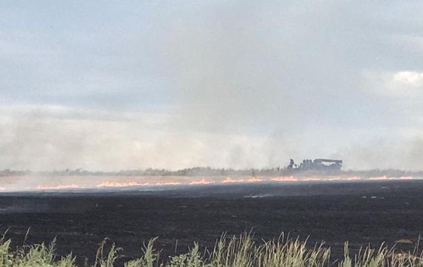 В штабе ООС назвали причину пожаров на Донбассе