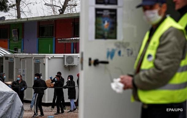В крупнейшем лагере мигрантов в Греции выявили первый случай COVID-19