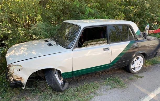 Пьяный житель Запорожья угнал авто и устроил на нем масштабное ДТП