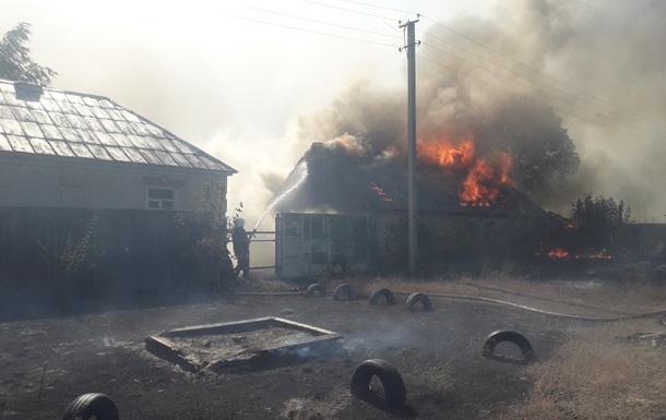 Пожар на Харьковщине: 52 человека эвакуированы